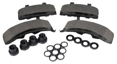 ACDelco 171-599 GM Original Equipment Front Disc Brake Pad Kit with Brake Pads, Boots, and Seals