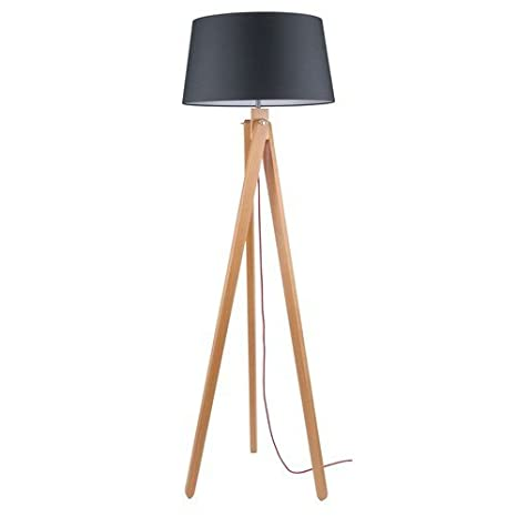 Bauhaus - Lámpara de pie (Altura 155 cm, 3 secciones con ...