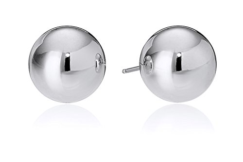 Sterling Silver 8mm Polished Ball Studs 8mm Ball Stud Earrings