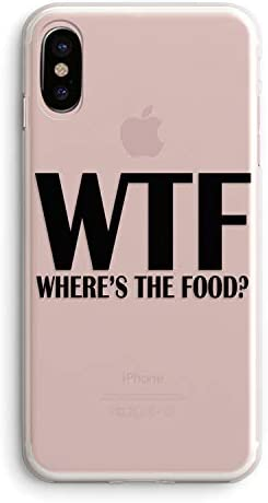 Amazon Com Iphone Xr Girls Cute Women Case Trendy Life Attitude Funny Cute Hipster Sassy Quotes Black Wtf Where Is The Food Funny Stuff For Teens Teenager Clear Rubber Case Compatible For Iphone Xr