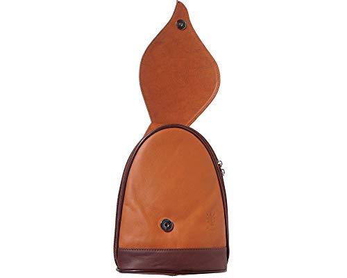 Feuille Leather Dos marron Foglia Sacs Florence Avec Market Sac Marron D'arbre À Ouverture Gm Clair Mode 2060 vqwwIdSxnC