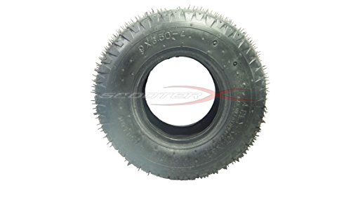 9 x 3.50 x 4 Tire - Commonly Used for Gas Scooters, Pocket Bikes, Mini Choppers, and Go Karts [3110] -  SCOOTERX