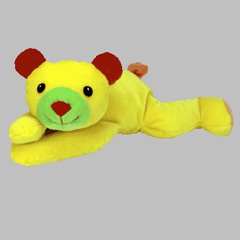 3e922ade22a TY Pillow Pal - HUGGY the Bear (Yellow Version)
