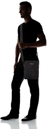 Tommy Hilfiger Herren Tommy Slim Reporter Business Tasche, Schwarz (Black), 5x28x23 cm