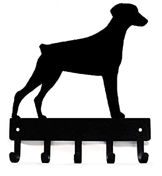Amazon.com: The Metal Peddler Doberman (orejas naturales ...