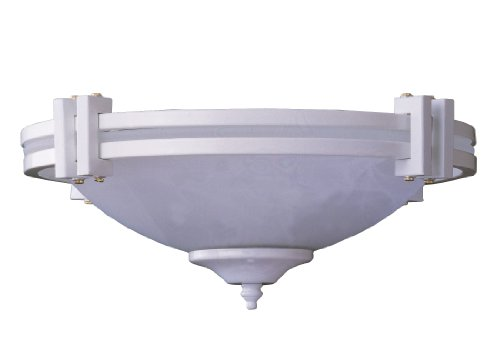 Concord Fans Y-301A-S-WH Lightkit 3 Fan Light Kit (Concord Bowls Glass)