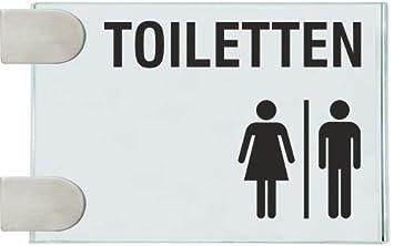 Fahnenschilder Kollmoor rectangular baños señoras/señores ...