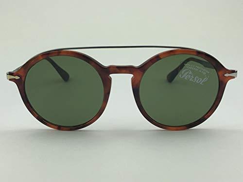 Persol Men's 0PO3172S Tortoise Brown/Green One ()