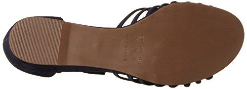 Sandalias con Wedge Sandal Cuña Mujer Biz Navy Nubuk Azul Shoe para nwI6xBt5q