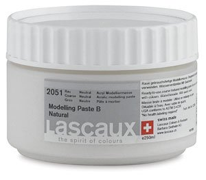 - Lascaux Acrylic Medium 3 - Satin, 250 ml jar