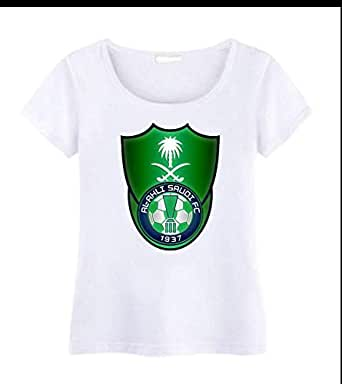 Round Neck Alahli FC T-Shirt For Women