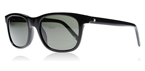 Mont Blanc 507S 01A Black 507S Wayfarer Sunglasses Lens Category 3 Size 53mm