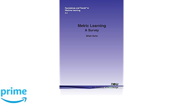 Metric Learning: A Survey (Foundations and Trends in Machine