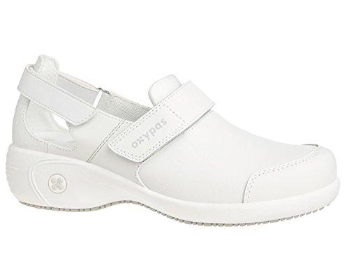 OxypasSalma - zapatos de seguridad mujer blanco - White (Wht)