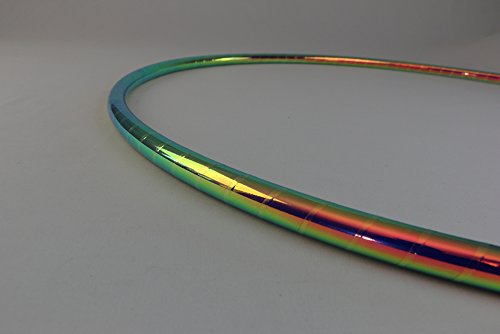 Color Changing Polypro Hula Hoop for Dance and Fitness (Oceans Depth, 30