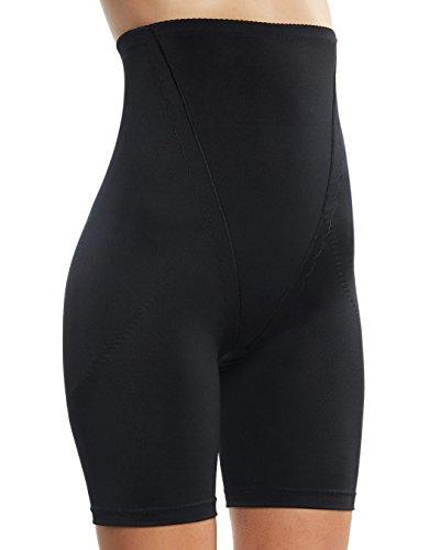 Plus Body - Belugue Womens High Waist Shapewear Shorts Tummy Control Black 3XL