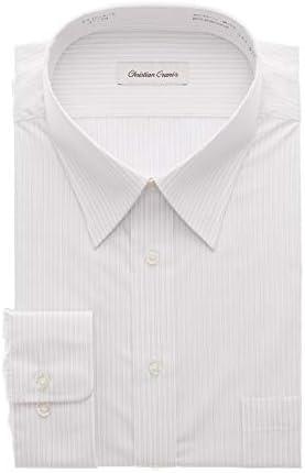 [CHRISTIAN ORANI] レギュラーカラースタンダードワイシャツ【キング&トール】 オールシーズン用 CR151K-A