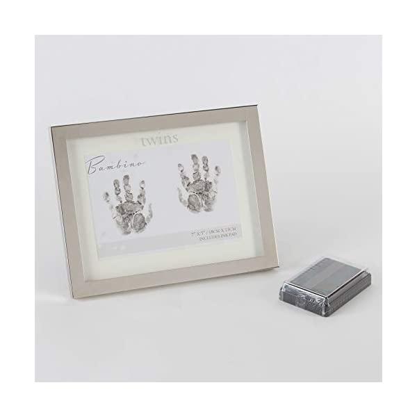 Bambino Photo Frames, Glass,Metal,Silverplated, One Size
