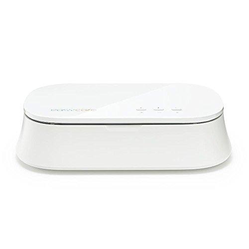 easycare® UV Light Cell Phone Sterilizer Portable Mobile Phone Disinfector White