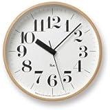 【タカタレムノス 渡辺力デザイン】Riki Clock RC/電波時計 WR07-11
