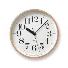 【タカタレムノス 渡辺力デザイン】Riki Clock RC/電波時計 WR07-11 B0087D0SPO