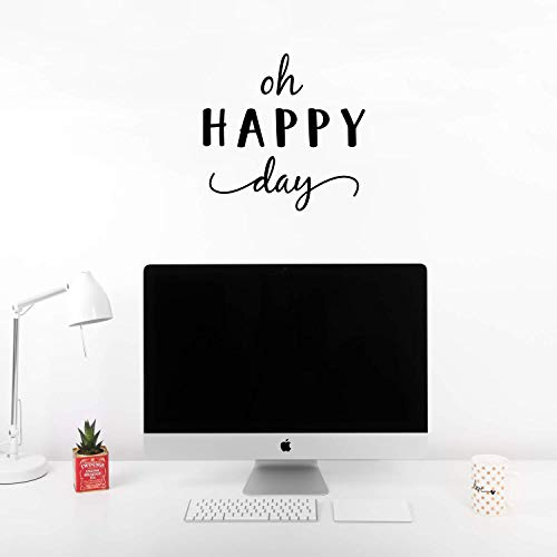 Vinyl Wall Art Decal - Oh Happy Day - 17