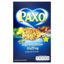 Paxo Sage And Onion Stuffing 240G