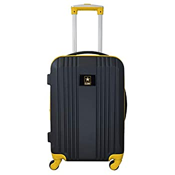 Image of Luggage Denco X-Games United States Army Round-Tripper Two-Tone Hardcase Luggage Spinnerround-Tripper Two-Tone Hardcase Luggage Spinner, Yellow, 21