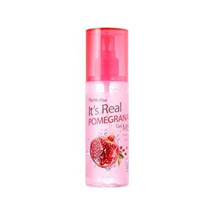 Farm Stay It`s Real Pomegranate Gel Mist 120ml[4.05Oz],Moisture, Skin ()