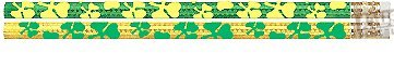 D1551G Shamrock Glitz - 36 St. Patrick's Day Pencils