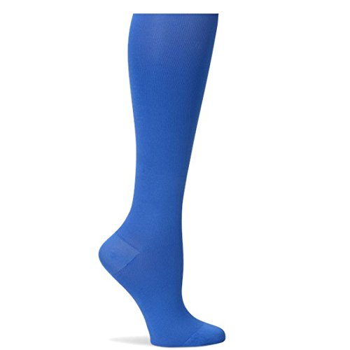 Nurse Mates Blue Microfiber Compression Trouser Socks - Large from Nurse Mates