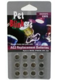 12 pack Pet Blinker Replacement (Battery Technology Replacement Battery)