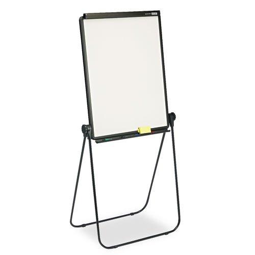 Presentación de borrado en Total de borrado en seco caballete, 26x 34, blanco, marco de acero negro