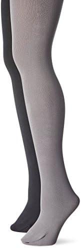 MUK LUKS womens not applicable Women's Fleece Lined 2-pair Pack Ti
