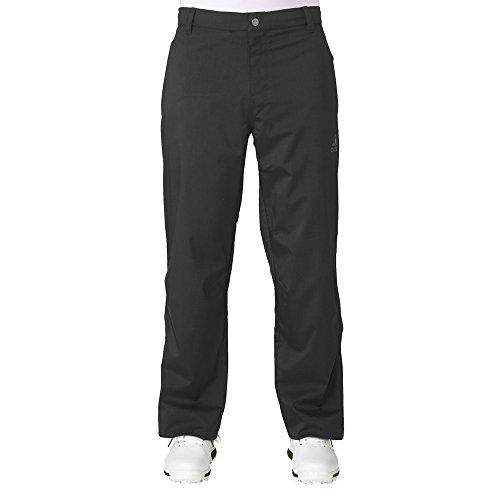- adidas Golf Men's Climaproof Heather Rain Short Sleeve Pullover, Black/Night Grey, X-Large Regular