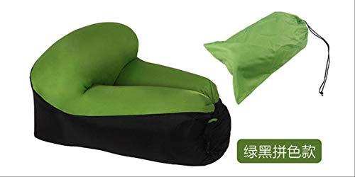 CAMEAGLE Camping Chair Camping Furniture Air Beach Chair Seat Cushion Portable Outdoor Grass Garden Inflatable Sleeping Chair Sofa Lounge Green (B&ms Garden Furniture)