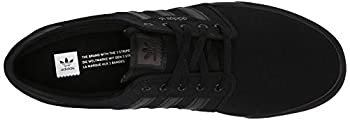 Adidas Men's Seeley Skate Shoe,blackblackblack,9 M Us 7