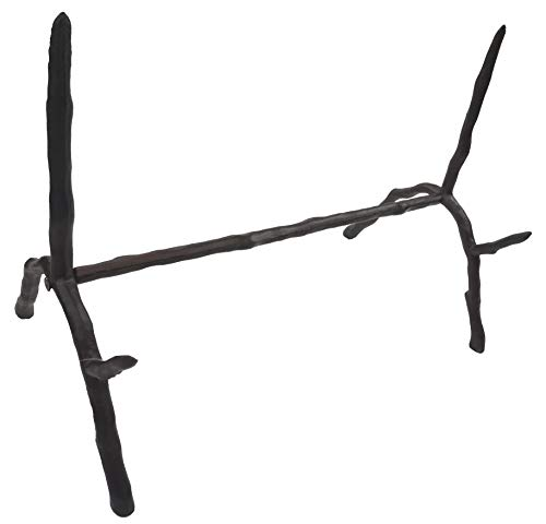 Stand Branch - LuLu Decor, Cast Iron Branch Style Book Holder, Easel, Picture Holder, Picture Display, Cook Book Holder, Bible Stand, Antique Black (Branch Easel CI60)