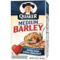 Quaker Medium Pearled Barley 16 oz (Pack of 12)