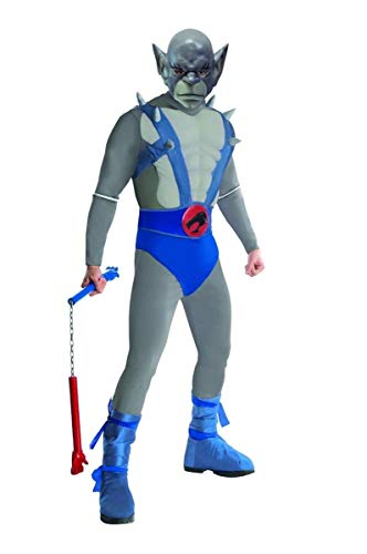 Thundercats Deluxe Panthro Costume, Blue, Standard -