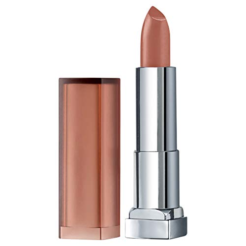 Maybelline New York Color Sensational Inti-Matte Nudes Lipstick, Raw Chocolate, 0.15 oz.