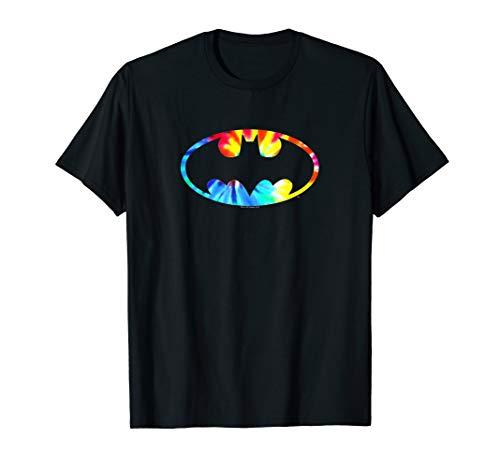 Batman Tie Dye Batman Logo T Shirt ()