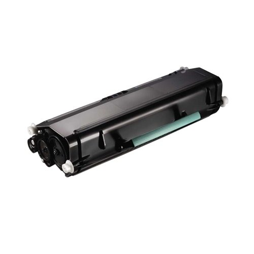 Genuine DELL 6,000-Page High Capacity Toner for Dell 2330d, 2330dn Printer 330-2667, 330-2666, 330-2650, 330-2649 (RR700, DM253) - Black