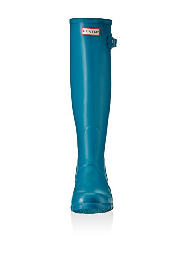 Hunter Botas de agua Womens Org Tall Azul Petróleo EU 39 (UK 6)