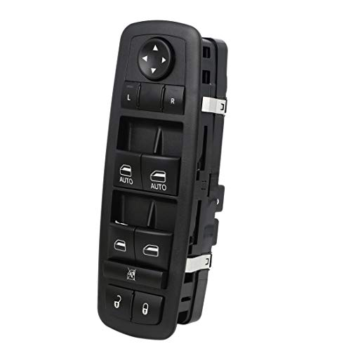 uxcell 68231805AA Electric Power Window Master Switch Front Left Driver Side for 2015-2017 Chrysler 200 C S 4-Door