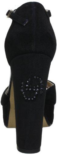 Byblos GIADA CXA8487A - Plataformas de cuero para mujer Negro (Schwarz (Nero))