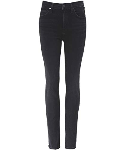 Humanity Citizens Rise Of High (Citizens of Humanity Women's High Rise Harlow Slim Jeans Black 30)