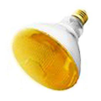 (Havells-SLI 03040 - 100BR38/BUG/YELLOW - 100 Watt BR38 Yellow Incandescent Flood Light Bulb)