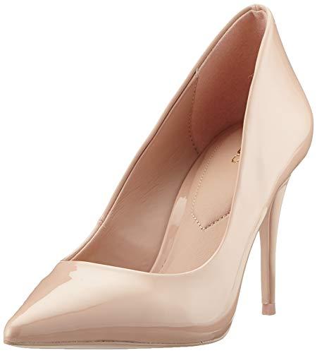 Aldo Women's Stiletto Heel, Pump, Bone Multi, 7.5 M US