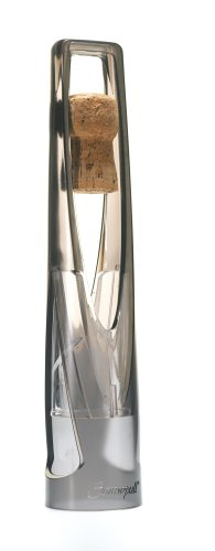 - Screwpull SW-105 Champagne Cork Catcher, Grey